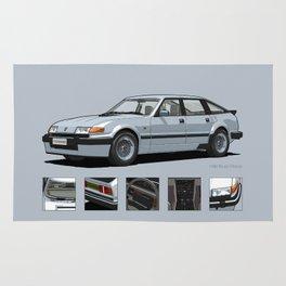 Rover Vitesse 1986 Silver Leaf Rug