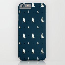 Sailing Boat Boating Ship Sail iPhone Case