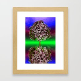 where the sky is different -31- Framed Art Print