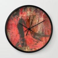 african Wall Clocks featuring African Man by Fernando Vieira