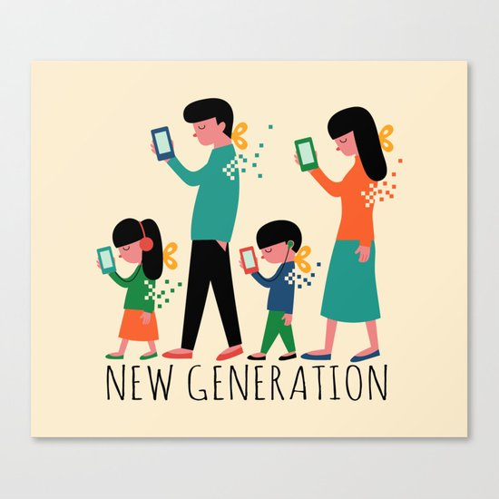 New Generation Canvas Print