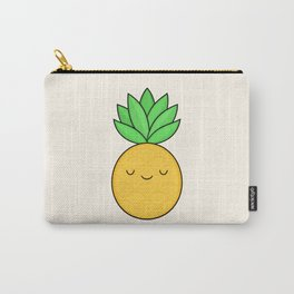 Happy Pineapple Carry-All Pouch