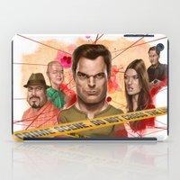 dexter iPad Cases featuring Dexter by Nithin Rao Kumblekar