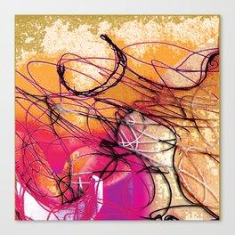 Sisyphus x30 Canvas Print