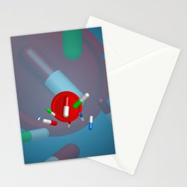 Different pills, Stationery Cards
