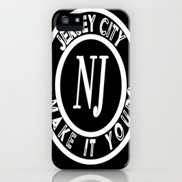 Jersey City - Make It Yours iPhone Case