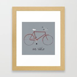 UN VELO Framed Art Print