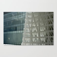 World Trade Center Competition Architectural Model Detail Canvas Print