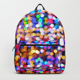 Multicolored lamp shades Backpack