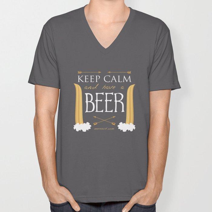 Have A Beer Unisex V-Neck