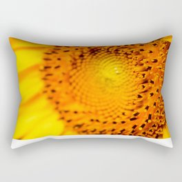 In your face yellow Rectangular Pillow
