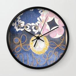 "Klint: ""The Ten Largest"" - Fine Art Print Wall Clock"