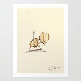 #coffeemonsters 503 Art Print