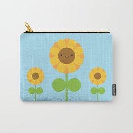 Kawaii Sunflower Carry-All Pouch