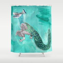 Velocicock  Shower Curtain