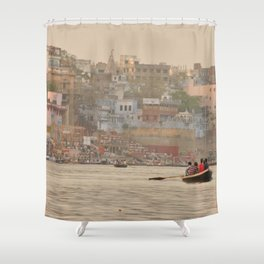 Dream Boat Shower Curtain