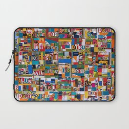 Beer by any Name Laptop Sleeve