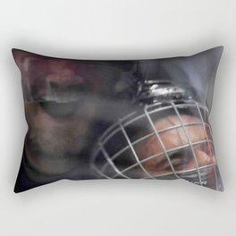 Justin vs Pronger Rectangular Pillow
