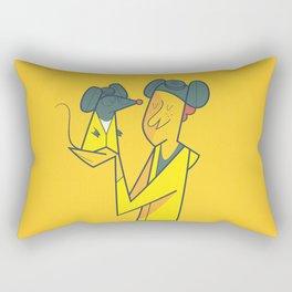 Breatatouille Rectangular Pillow