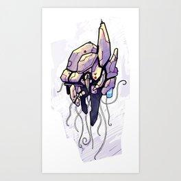 SquidPod Art Print