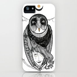 bird women iPhone Case