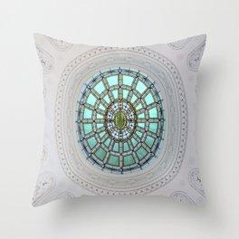 Tiffany Skylight Window Throw Pillow