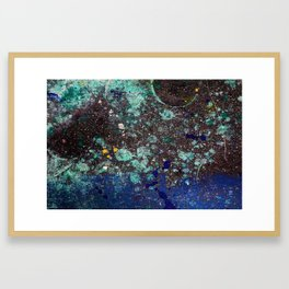 Third Shift Framed Art Print