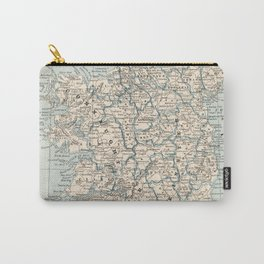 Vintage Map of Ireland (1893) Carry-All Pouch