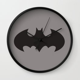 Bat Symbol Wall Clock