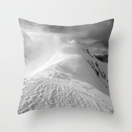 Stob a 'Choire Leith In Winter Throw Pillow