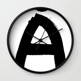 The last letter Wall Clock