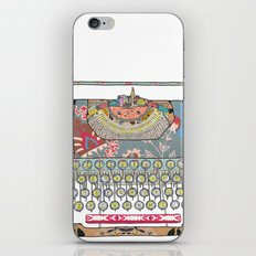 I DON'T KNOW WHAT TO WRITE YOU iPhone Skin