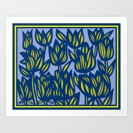 Art, Print, Art Print, Drawing Flowers, Home Decor, Print Botanical, Drawing Flowers, Line Drawing F Art Print