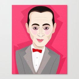 Pee-wee Herman Canvas Print