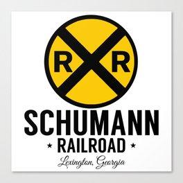 Schuman RR Canvas Print