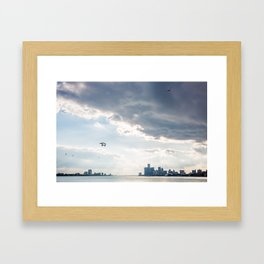 Detroit State of Mind Framed Art Print