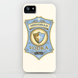 Arendelle Vodka iPhone Case