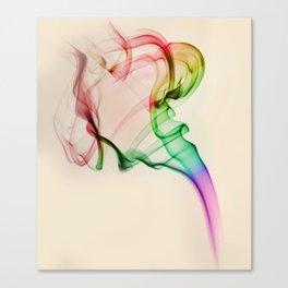 Smoke compositions VI Canvas Print