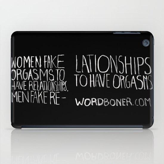Orgasms iPad Case