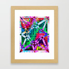 TIMESPACE Framed Art Print