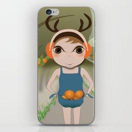 Deery Fairy and Oranges iPhone Skin
