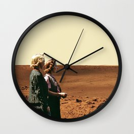 Women Are From Mars Wall Clock