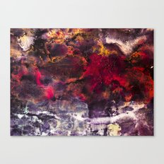 Abstract Encaustic I  /  Encaustique abstrait I  /  Encáustica abstracto I Canvas Print