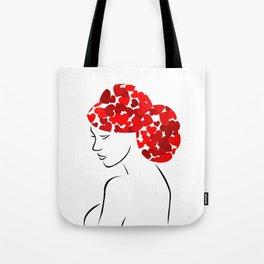 Love in my hair Tote Bag