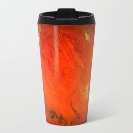 Italian Style Orange Stucco - Adobe Shadows Travel Mug