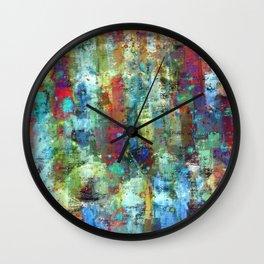 Panic Attack Wall Clock