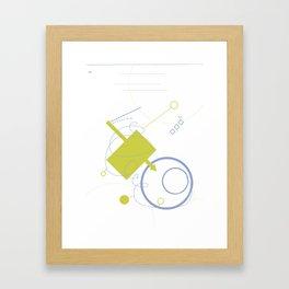 Art & Anthropology - Envelope Poster Framed Art Print