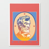 lincoln Canvas Prints featuring Lincoln by David Chestnutt