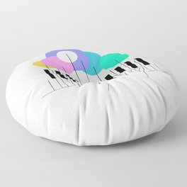 Sound of nature Floor Pillow