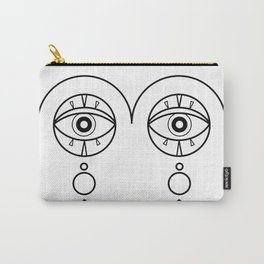 The eyes of the beholder Carry-All Pouch